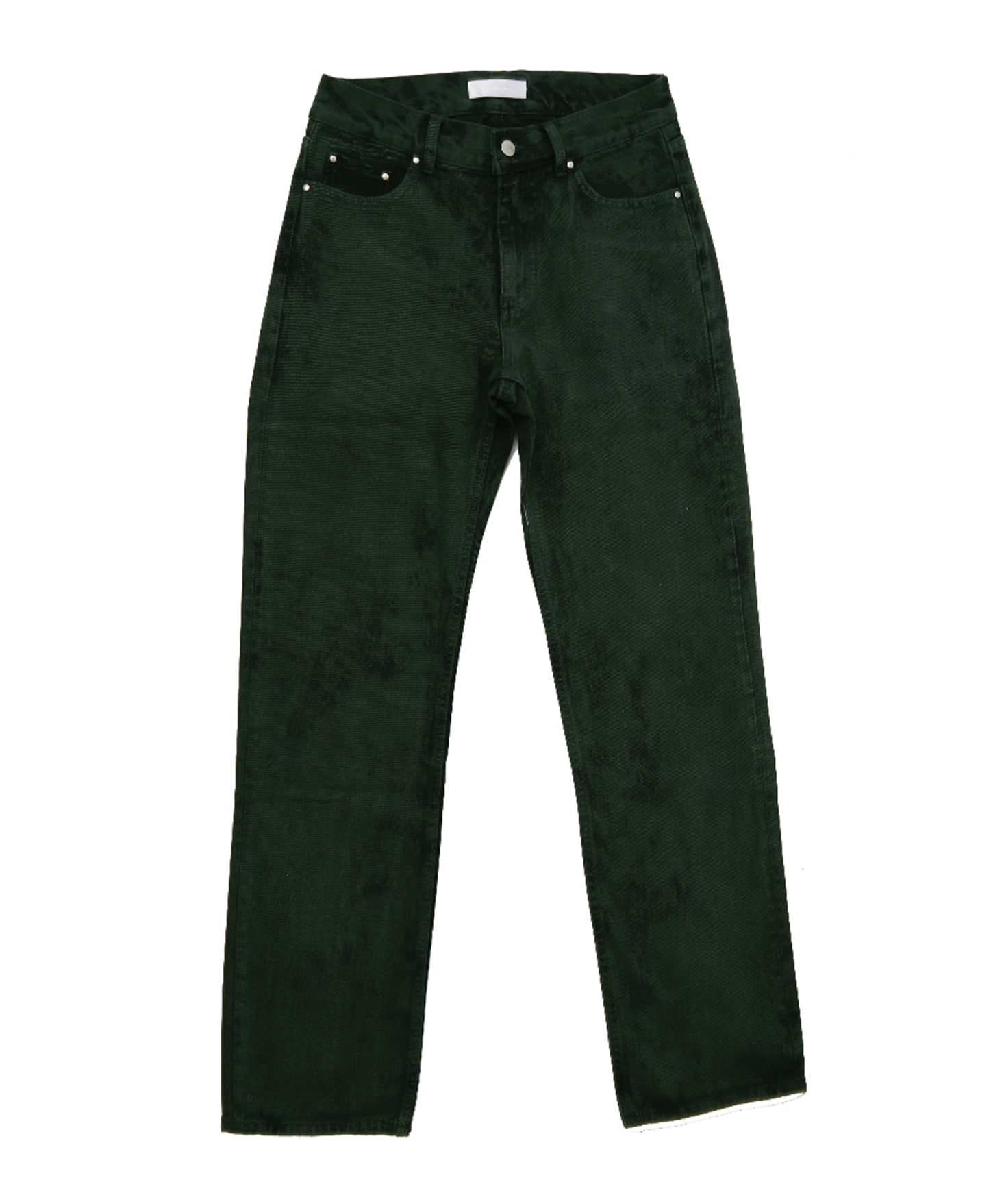(D WASHED JEAN (GREEN)
